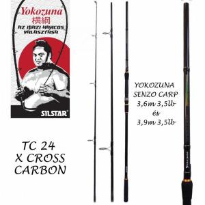Silstar Yokuzuna Carp Senzo 3,9M 3/3,5