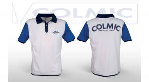 Colmic Galléros fehér polo XL